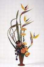 Magnifique bouquet de fleurs exotiques