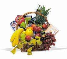 Magnifique Panier de Fruits <br>ou<br> Fruits Gourmet