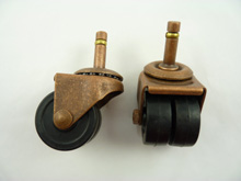 3400 - Casters  with Twin rubberex each