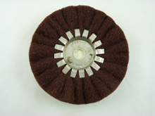 4562 - Buffing wheels, fine durable cotton. 1/2