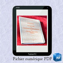 Initiation à la lecture et à l'analyse grammaticale de l'Ancien Testament hébreu - Fichier numérique PDF