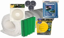 Filter Media, Replacement Foams, Pads, Media Bags , Bio-Media & Brushes