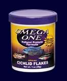 Omega One Cichlid Flakes 148g (5.3oz)