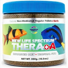New Life Spectrum Naturox Thera A Formula - 1-1.5mm Sinking Pellets 300g (Item Currently Unavailable)