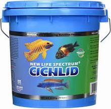 New Life Spectrum Cichlid Formula - 1-1.5mm Sinking Pellets 2.2kg Bucket