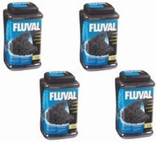 Fluval Premium Select Carbon - Includes 4 Mesh Media Bags - 6.6kg (14.5 lb) * #1 Seller *