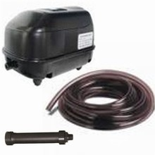 Deluxe Pond Logic KA-20 Aeration Package (.80 CFM) *Includes Weighted Hose*