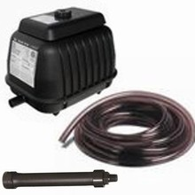 Deluxe Pond Logic KA-40 Aeration Package (1.7 CFM) *Includes Weighted Hose*