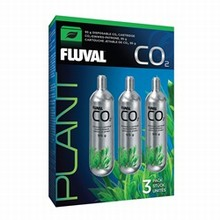 Fluval CO2 Cartridges - 3 x 95g - Also fits 88g systems
