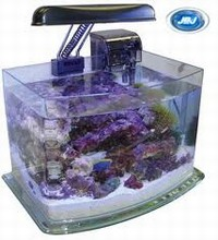 JBJ Picotope 3 Gallon Curved Glass Aquarium Kit (Item Currently Unavailable)