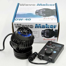 Dual Jebao OW-40 (Replaces RW/SW-15) Wireless Wavemaker Package - 315-3950 GPH Per Pump