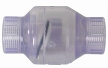 Clear Swing Check Valve - 1 1/2 inch FPT x 1 1/2 inch FPT