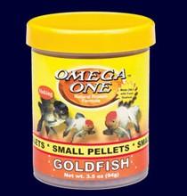 Omega One Small (2mm) Sinking Goldfish Pellets 8oz