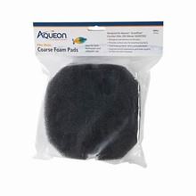 Aqueon QuietFlow Canister Filter Coarse Foam Pad, Small, Pack of 2