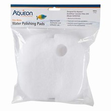 Aqueon QuietFlow Canister Filter Polishing Pad, Small, Pack of 2