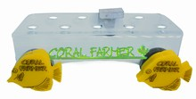 Coral Farmer 9 Hole Double Magnet Frag Rack Glass up to 3/4