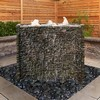 Aquascape Stacked Slate Spillway Wall Landscape Fountain Kit - 32-inch