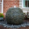 Aquascape Stacked Slate Sphere Landscape Fountain Kit