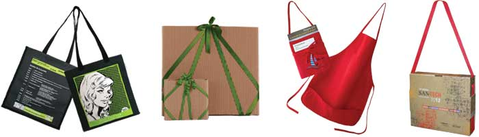 Sac Coup-de-pouce, emballage McCall, Tablier, Mallette San-Tech