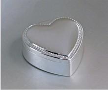 Boîte à bijoux coeur