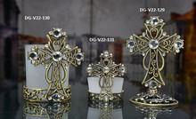 Collection de croix doré
