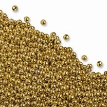 Perles en sucres dorés