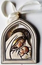 Plaque marie & bébé