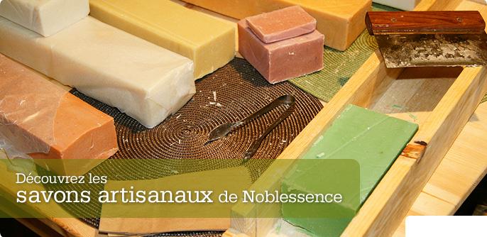 Découvrez les savons artisanaux de Noblessence