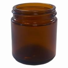 Pot en verre brun 50ml