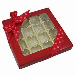 1lb Folding Box Square 16 or 25ct