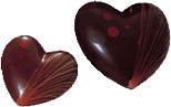 B30 MLD090083 Chocolate Mold heart bonbonniere