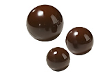 B264 Chocolate Mold half sphere 55mm