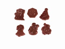art10396 Christmas assortment chocolate mold