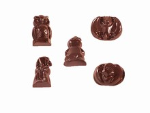 art11560 Moule chocolat assortiment Halloween