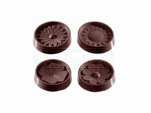 CW2146 Assorted Flowers Chocolate Mold