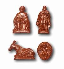 art12696 Moule chocolat personnages de la Crèche