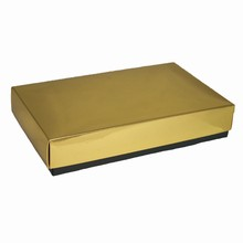 CC191 1/2lb Rectangular Gold Box