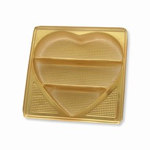 cch55 Heart shape plastic tray (50)