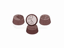 cw1563 Moule Chocolat