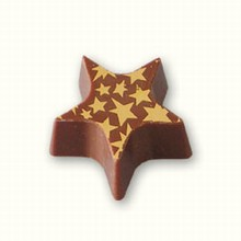 ax740 Star chocolate mold