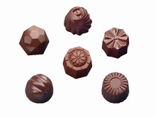 art12601 Assorted Designs chocolate mold