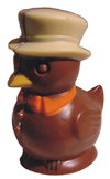 art12234 Edward the Duck chocolate mold