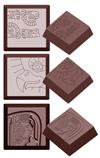 cw1593 Moule Chocolat carré maya