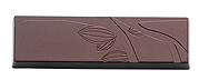 b168 Chocolate Mold cocoa pod bar