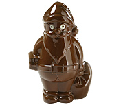 B169 MLD090260 Moule Chocolat Père Noël
