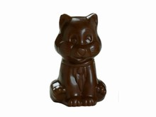 art13190  chocolate mold cat