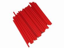 p412r Bâtonnets à suçon rouge
