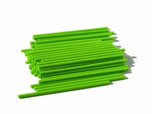 p412lg lime green lollipop sticks