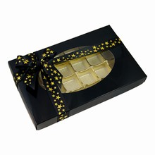 cc18-4 Glossy Black 1lb Rectangular Box