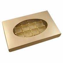 cc585 boîte Platine 24ct 1lb rectangulaire